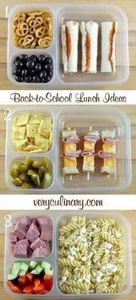 Back-to-School Lunch Ideas #lunchb - 300 Bento Box Recipes - RecipePin.com