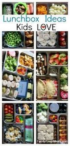 School lunch box ideas your kids w - 300 Bento Box Recipes - RecipePin.com