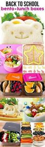 Back to School Bento Lunch Boxes - 300 Bento Box Recipes - RecipePin.com