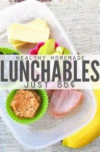 Recipe: Healthy Homemade Lunchable - 300 Bento Box Recipes - RecipePin.com