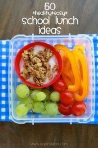 50 School Lunch Ideas - I want the - 300 Bento Box Recipes - RecipePin.com