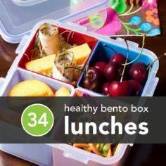 Healthy lunch ideas from greatist. - 300 Bento Box Recipes - RecipePin.com