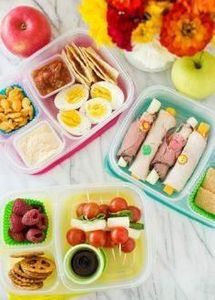 Sandwich free lunch box ideas kids - 300 Bento Box Recipes - RecipePin.com