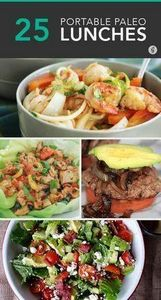 25 Paleo Lunches to Brown Bag to W - 300 Bento Box Recipes - RecipePin.com