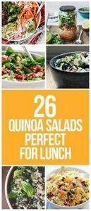 Forget lettuce! Try quinoa in your - 300 Bento Box Recipes - RecipePin.com