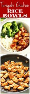 Quick and Easy Teriyaki Chicken Ri - 300 Bento Box Recipes - RecipePin.com