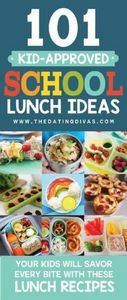 101 Kid Approved School Lunch Idea - 300 Bento Box Recipes - RecipePin.com