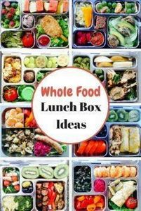Whole Food Lunch Box Ideas. I woul - 300 Bento Box Recipes - RecipePin.com