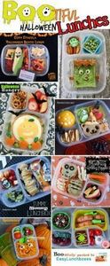 Spook-a-licious Halloween lunches  - 300 Bento Box Recipes - RecipePin.com
