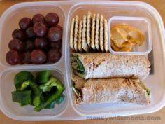 Healthy school lunches packed in # - 300 Bento Box Recipes - RecipePin.com
