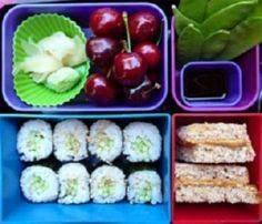 Great site for lunch boxes and men - 300 Bento Box Recipes - RecipePin.com