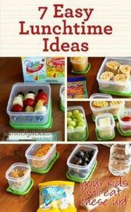 7 Simple Lunchtime Ideas - 300 Bento Box Recipes - RecipePin.com