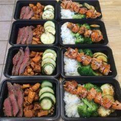 Meal preppin - 300 Bento Box Recipes - RecipePin.com