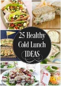 25 Delicious and Healthy Cold Lunc - 300 Bento Box Recipes - RecipePin.com