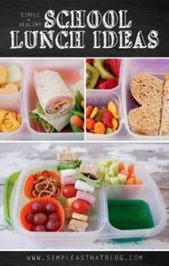 A week of Simple + Healthy school  - 300 Bento Box Recipes - RecipePin.com