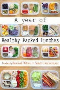 A Year of Healthy Packed Lunches i - 300 Bento Box Recipes - RecipePin.com