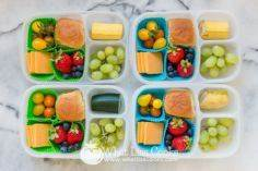 school lunch by WhatLisaCooks.com - 300 Bento Box Recipes - RecipePin.com