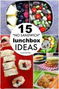 15 Non-sandwich Lunch Box Ideas - 300 Bento Box Recipes - RecipePin.com