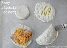 Super Easy Meal: Biscuit Pockets.. - 300 Bento Box Recipes - RecipePin.com