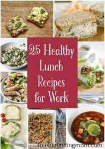 25 Healthy Lunch Recipes for Work - 300 Bento Box Recipes - RecipePin.com
