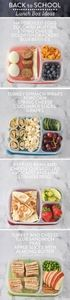 Yummy packed lunch ideas for when  - 300 Bento Box Recipes - RecipePin.com