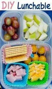 Creative School Lunch Ideas - 300 Bento Box Recipes - RecipePin.com