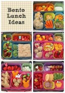 Cute, healthy, lunch ideas for kid - 300 Bento Box Recipes - RecipePin.com