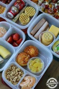 5 Back to School Lunches for Picky - 300 Bento Box Recipes - RecipePin.com