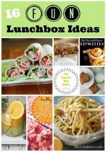 16 Fun Lunchbox Ideas from MomAdvi - 300 Bento Box Recipes - RecipePin.com