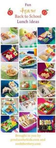 Back to School Lunch Box Ideas - T - 300 Bento Box Recipes - RecipePin.com