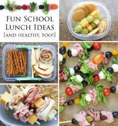 Fun and Healthy Back-To-School Lun - 300 Bento Box Recipes - RecipePin.com