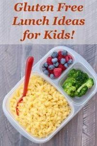 Gluten Free Lunch Ideas for Kids!  - 300 Bento Box Recipes - RecipePin.com