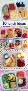 30 packed lunch ideas to put in yo - 300 Bento Box Recipes - RecipePin.com
