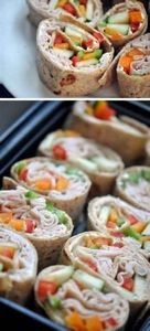 Colorful Roll Ups | Click Pic for  - 300 Bento Box Recipes - RecipePin.com