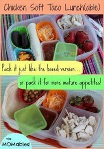 lunchables copycat healthy school  - 300 Bento Box Recipes - RecipePin.com