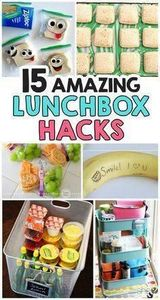 15 Amazing Back To School Lunchbox - 300 Bento Box Recipes - RecipePin.com