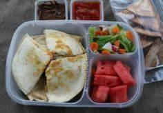 Quesadilla lunch for teen - 300 Bento Box Recipes - RecipePin.com