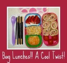 Packing Lunches! Healthy Lunch ide - 300 Bento Box Recipes - RecipePin.com