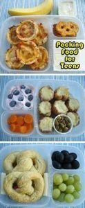Tips for Packing Food for Hungry T - 300 Bento Box Recipes - RecipePin.com