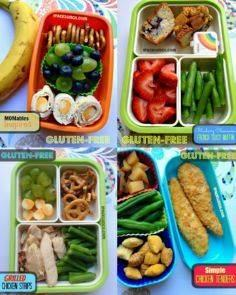 gluten free lunch ideas including  - 300 Bento Box Recipes - RecipePin.com