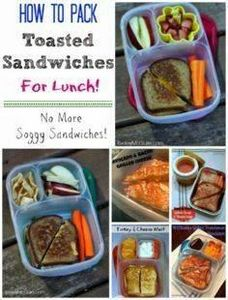 Lunch Made Easy: Packing Toasted S - 300 Bento Box Recipes - RecipePin.com