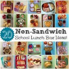 20 Non-Sandwich School Lunch Ideas - 300 Bento Box Recipes - RecipePin.com