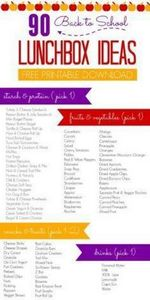 back to school lunchbox ideas grap - 300 Bento Box Recipes - RecipePin.com