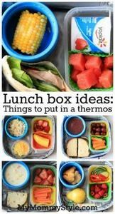 Lunchbox ideas-Things to put in a  - 300 Bento Box Recipes - RecipePin.com