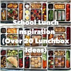 School Lunch Inspiration – Over 20 - 300 Bento Box Recipes - RecipePin.com