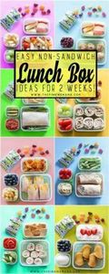 2 Whole weeks of Non-Sandwich - Ea - 300 Bento Box Recipes - RecipePin.com