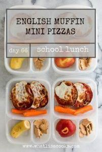 School Lunch Day 66: English Muffi - 300 Bento Box Recipes - RecipePin.com