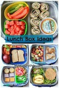 Healthy Lunch Box ideas. New and e - 300 Bento Box Recipes - RecipePin.com