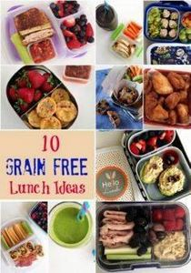 10 easy to make grain free school  - 300 Bento Box Recipes - RecipePin.com