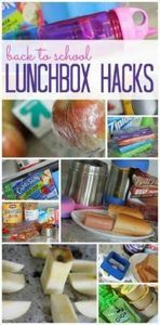 back to school lunchbox hacks - 300 Bento Box Recipes - RecipePin.com